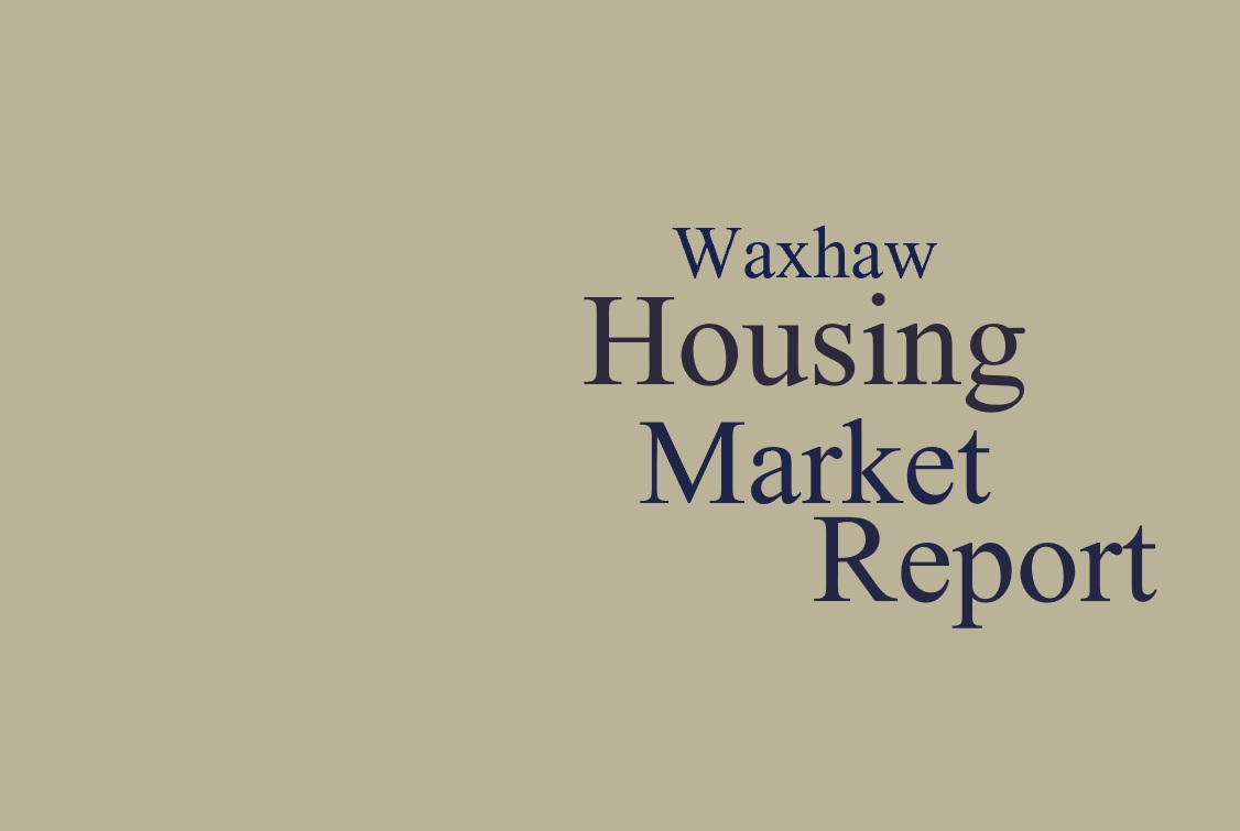 Waxhaw Area (28173 Zip Code) Housing Market Update & Video: December 2018