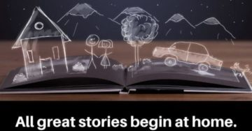 all great stories begin at home