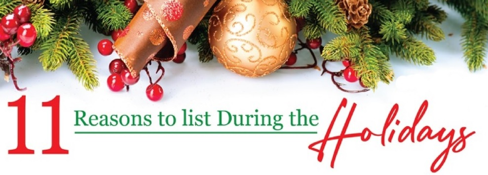 Reasons To List Your Home For Sale During The Holidays