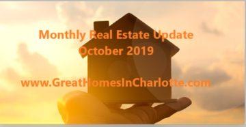 Charlotte Real Estate Update October 2019