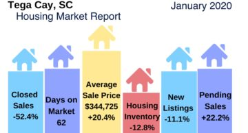 Tega Cay Real Estate Update January 2020