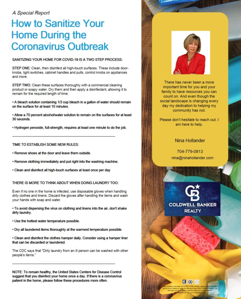 Tips To Sanitize Your Home During Corona Virys Outbreak