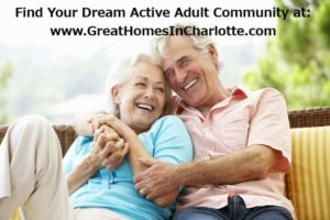 Active Adult Community Homes For Sale In Charlotte
