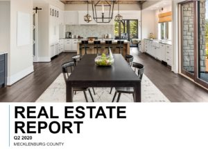 Mecklenburg County, NC Real Estate Report Qtr 2-2020