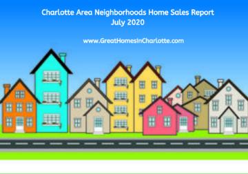 Charlotte Region's Top Selling Neighborhoods In Jly 2020