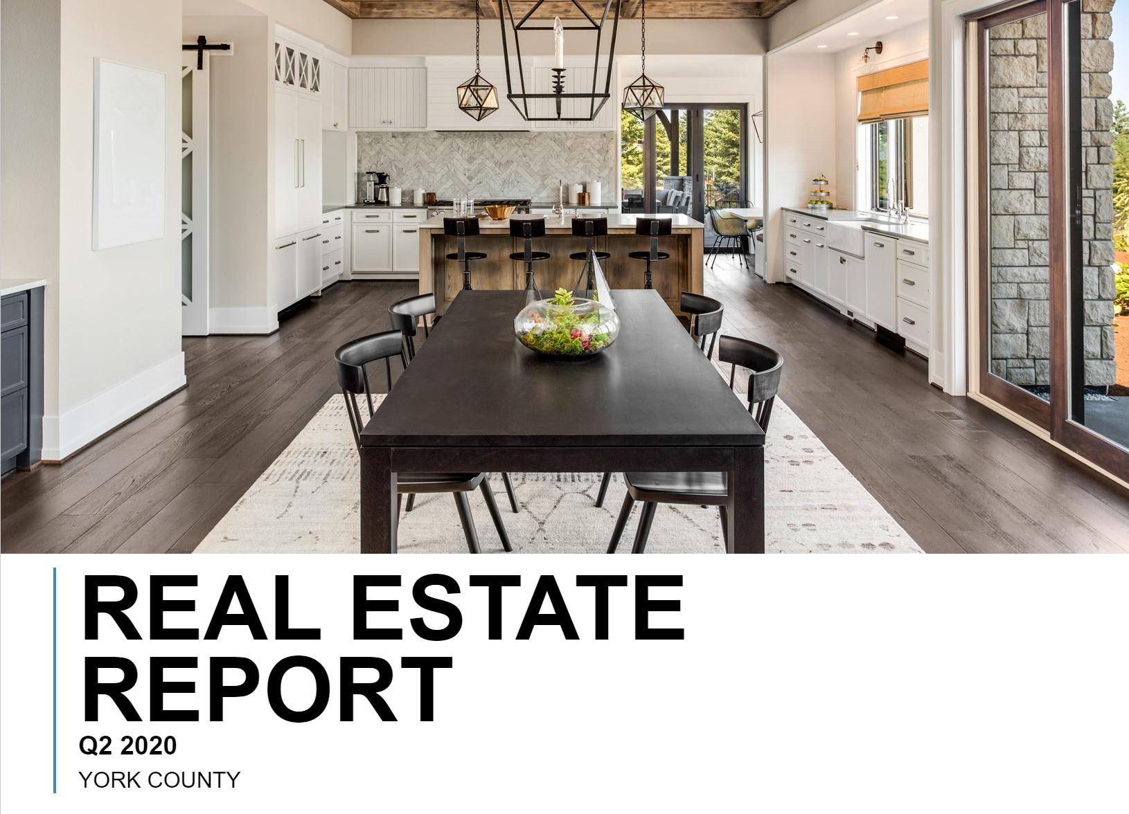 York County, SC Real Estate Report: Quarter 2-2020