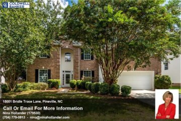 15001 Bridle Trace Lane In Pineville For Sale