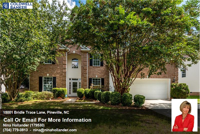 For Sale In Pineville: 15001 Bridle Trace Lane