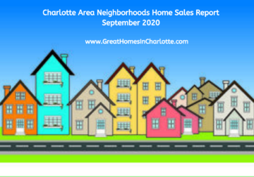 September 2020 Charlotte Area Sales Report