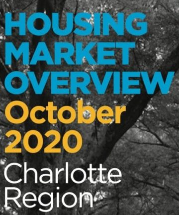 Charlotte Region Housing Market Overview October 2020