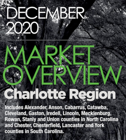 Housing Market Overview Charlotte Region December 2020