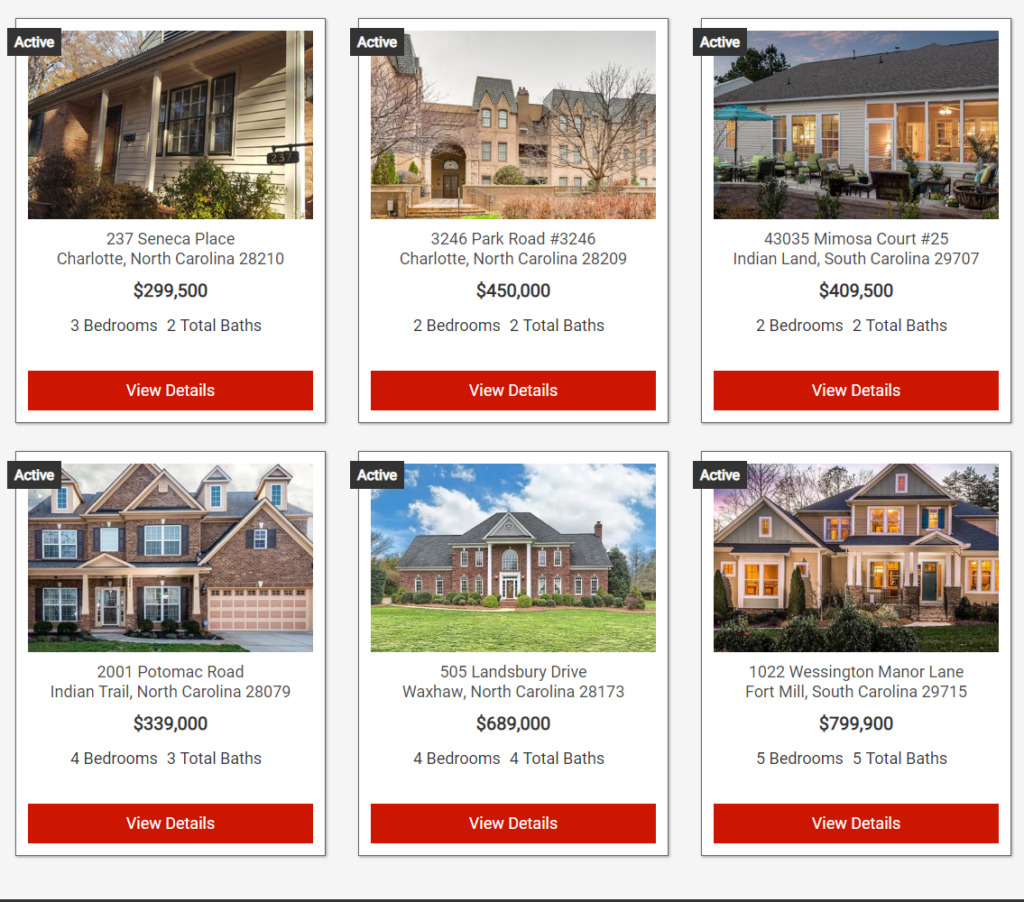 Greater Charlotte Homes For Sale