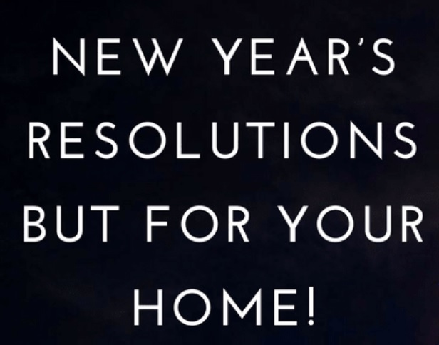 2021 Resolutions For Homeowners
