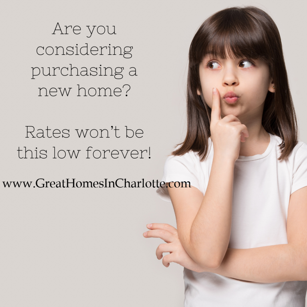thinking about buying a home while interest rates are low?