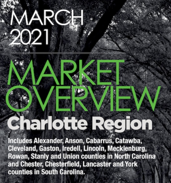 Housing Market Overview Charlotte Region March 2021