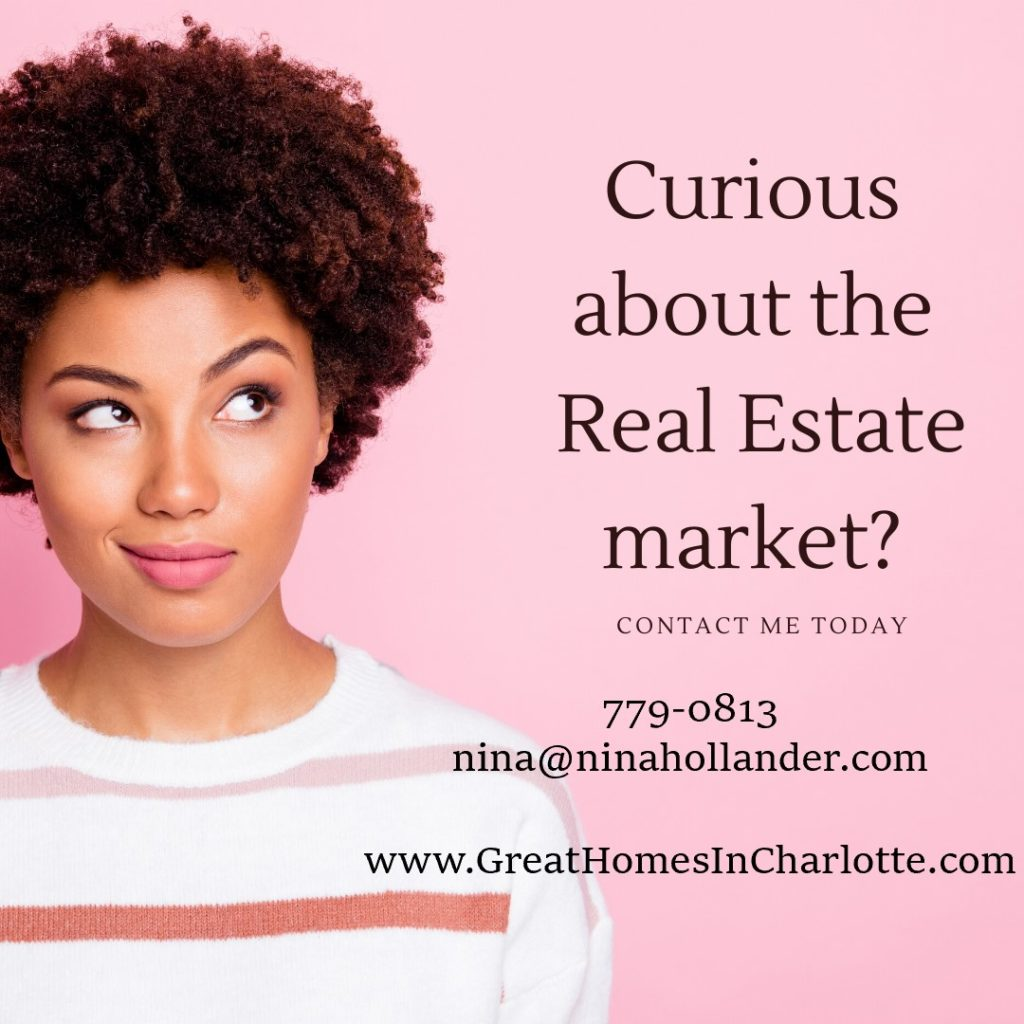 Contact Nina Hollander if you're curious about the Charlotte real estate market