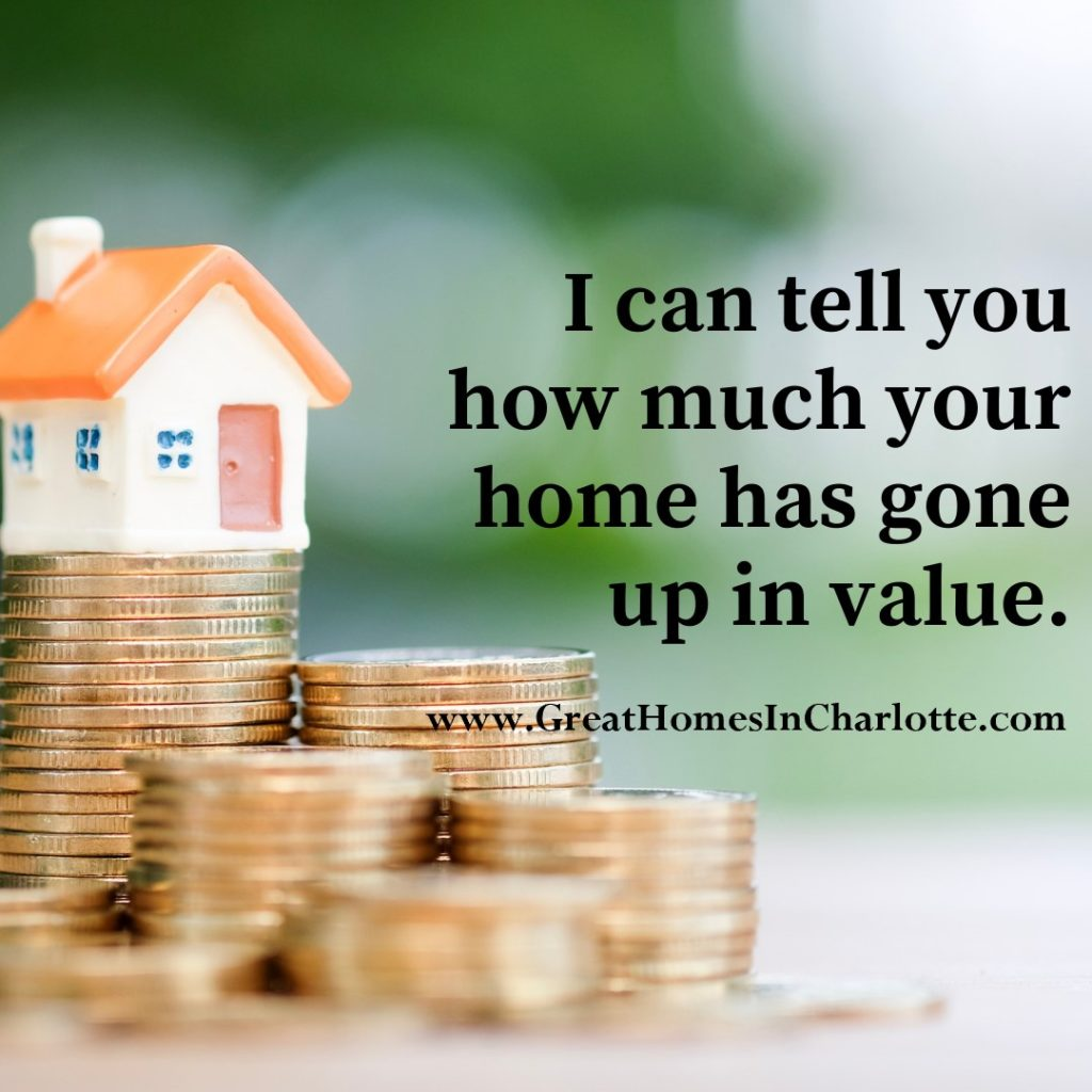 Find out how much your home has gone up in value