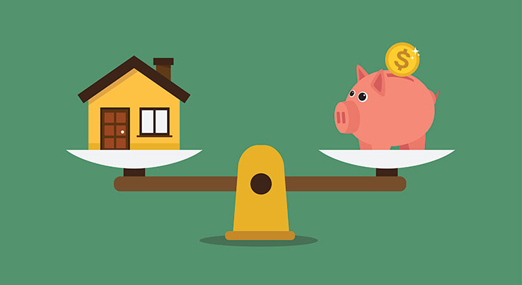 Net worth and home ownership