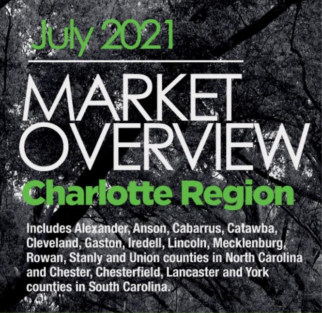 Charlotte Region Housing Market July 2021