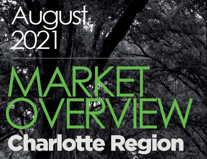 Charlotte Region Real Estate Report: August 2021