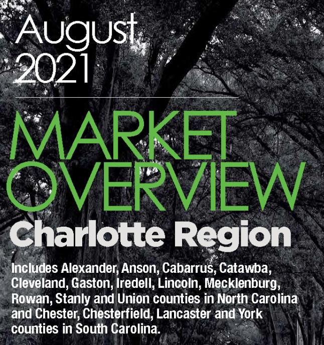 Charlotte Region Housing Market Report August 2021